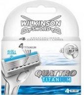 Náhradní hlavice pánské Titanium Quattro Wilkinson