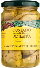 Nakládané grilované artyčoky Contado degli Acquaviva
