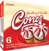 Nanuk kornout Cones Iceland