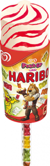 Nanuk Haribo Push up Algida