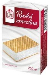 Ruská zmrzlina Fine Food