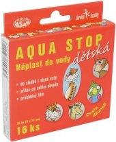 Náplast dětská voděodolná Aqua Stop Percom