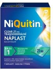 Nikotinová náplast Clear NiQuitin