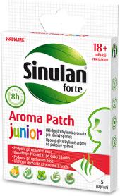 Náplast proti rýmě Sinulan Forte Aroma Patch Junior Walmark