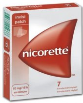 Náplasti nikotinové Invisipatch 10 mg Nicorette