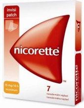 Náplasti nikotinové Invisipatch 15 mg Nicorette