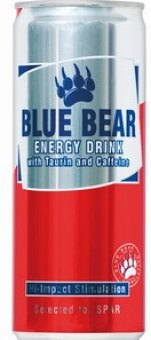 Energetický nápoj Blue Bear