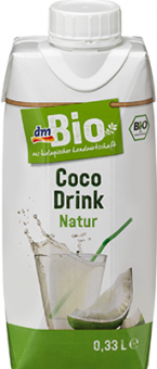 Nápoj kokosový Natur dm Bio