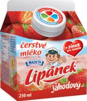 Nápoj mléko čerstvé ochucené Lipánek