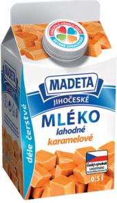 Nápoj mléko ochucené Jihočeské Madeta