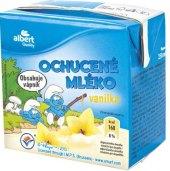 Nápoj mléko ochucené Šmoulové Albert Quality