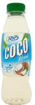 Nápoj s kostkami kokosu Rio