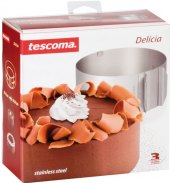 Forma na dort nastavitelná kulatá Delícia Tescoma