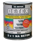 Nátěr 2v1 na beton polomat Betex