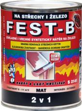 Nátěr na střechy i železo Fest - B 2v1