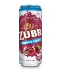 Nealkoholické pivo ochucené Zubr