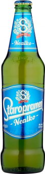 Nealkoholické pivo Staropramen