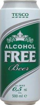 Nealkoholické pivo Tesco