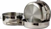 Nerezové kempingové nádobí