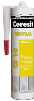 Neutrální silikon transparentní Ceresit CS 16