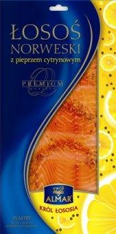 Losos norský uzený s citronovým pepřem Almar