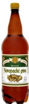 Pivo světlé výčepní Brouček Pivovar Nová Paka