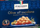 Olivy obalované mražené Italiamo
