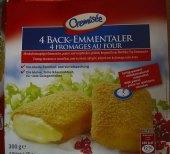 Sýrové speciality obalované mražené Cremisée
