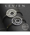 Ocelový náramek Levien