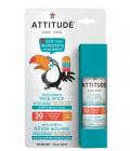 Ochranná tyčinka na obličej a rty dětská OF 30 Attitude