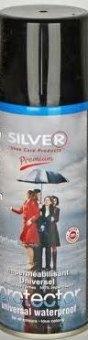 Sprej impregnační ochranný univerzální na obuv Silver