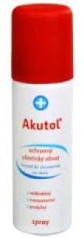 Obvaz plastický ochranný ve spreji Akutol