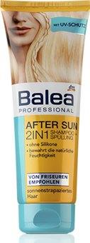 Ochranný šampon a balzám 2v1 After Sun Balea Professional