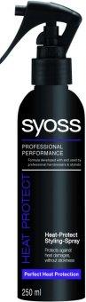 Ochraný termosprej na vlasy Syoss