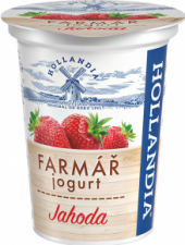 Ochucený jogurt Farmář Hollandia