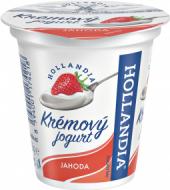 Ochucený jogurt krémový Hollandia