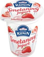 Ochucený jogurt smetanový Kunín