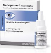 Oční kapky Siccaprotect
