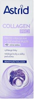 Oční krém proti vráskám Collagen Pro Astrid