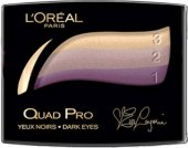 Oční stíny Quad Pro Color L'oréal