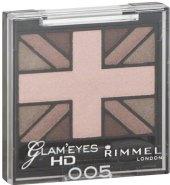 Oční stíny HD Glam Eyes Rimmel