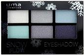 Oční stíny Snow Flow Uma Cosmetics