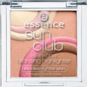 Oční stíny Sun Club Essence