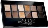 Oční stíny The Nudes Maybelline