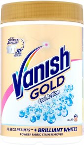 Odstraňovač skvrn práškový Gold Oxi Action Vanish