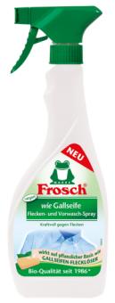 Odstraňovač skvrn se žlučovým mýdlem ve spreji Frosch