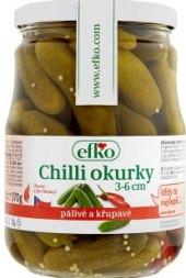 Okurky chilli Efko