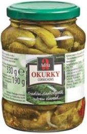 Okurky Cornichons Adria