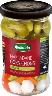 Okurky Cornichons Avokádo