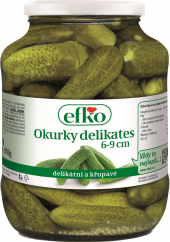 Okurky delikates Efko